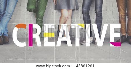 Creative Design Ideas Imagination Innovation Concept