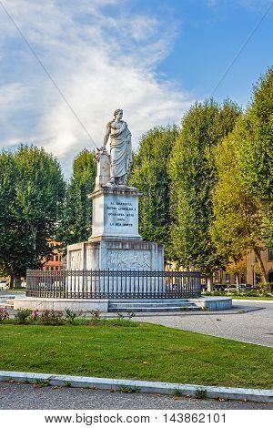 Monument To Pietro Leopoldo In Pisa, Italy.