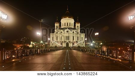 Moscow Russia - August 21, 2016: The main temple of the entire Orthodox world -