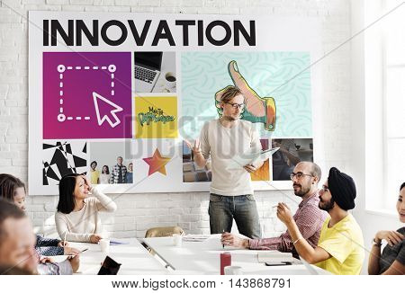 Presentation Graphic Work People Concept