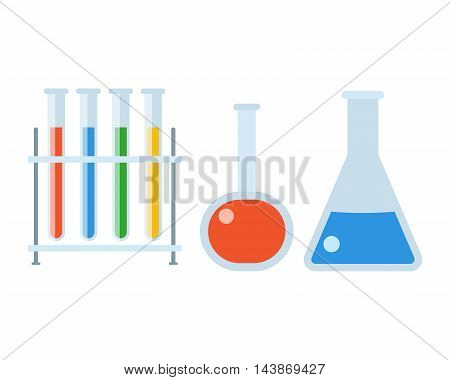 Chemistry Flasks Set