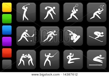 Original vector illustration: competitive and sports icon collection