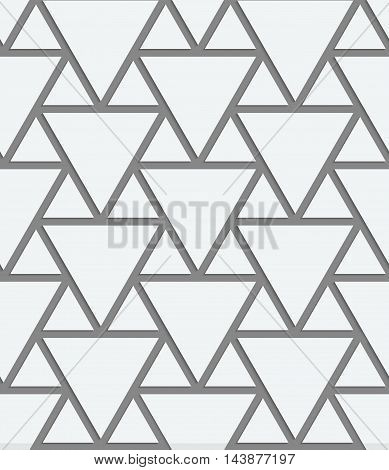 Perforated Big And Small Triangles