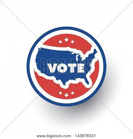 USA Voting Design Concept
