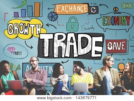 Trade Export Economy Exchange Finance Concept