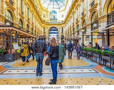 Galleria Vittorio Emanuele Ii Milan (hdr)