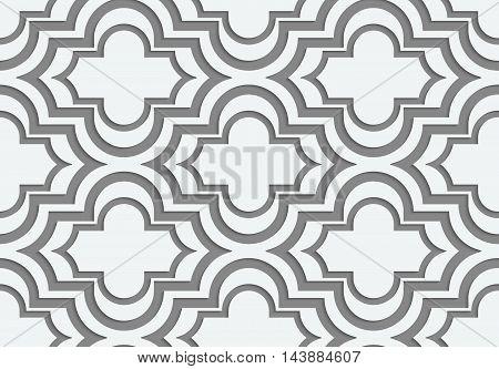 Perforated Horizontal Offset Marakech