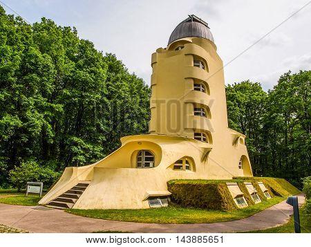 Einstein Turm In Potsdam (hdr)