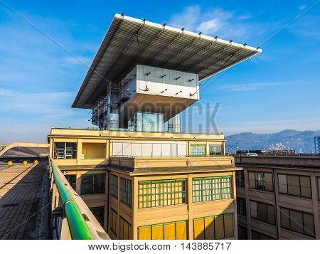 Lingotto Pinacoteca Agnelli In Turin (hdr)