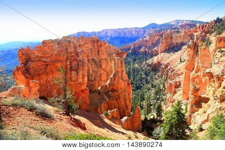 Bryce Canyon National Park, near Rainbow Point hoodoos
