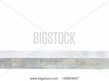 Empty concrete table top background, stock photo