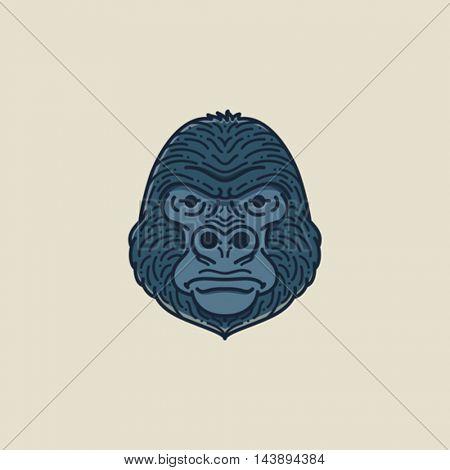 Gorilla Flat illustration