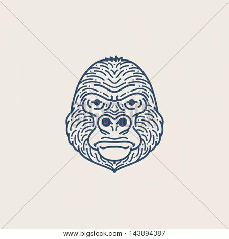 Gorilla Line illustration