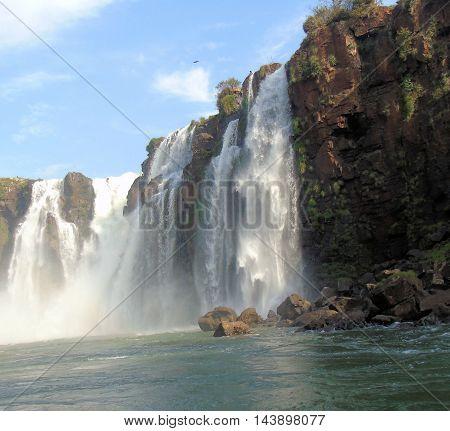Iguaza Falls the fourth natural wonder of the world