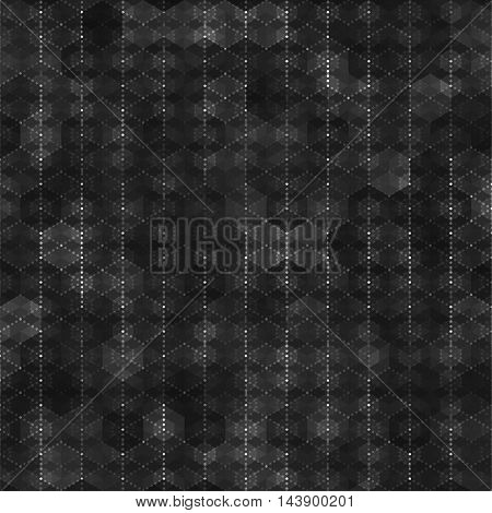 Seamless pattern with hexagon shapes abstract color background. Blank template swatches vector illustration save in 10 eps