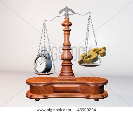 Scale Of Money And Time