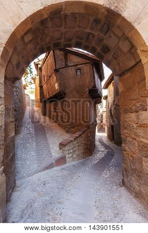 Most famous house in Albarracin, Typical building