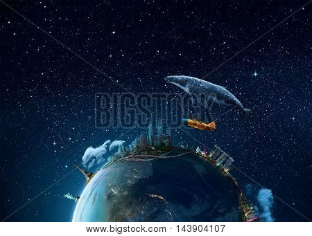 Take me to the dream - Extremely detailed image including elements furnished by NASA.