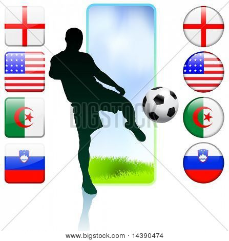 Soccer/Football Group C Original Vector Illustration