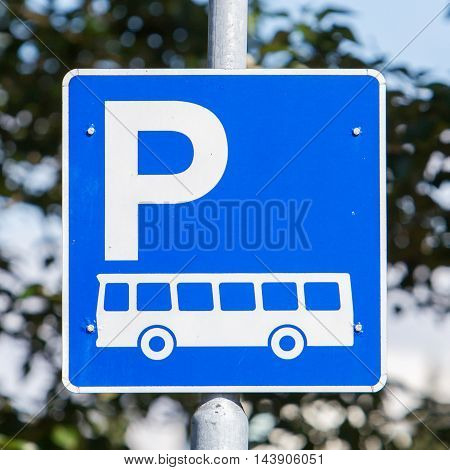 Coach Parking Only Sign