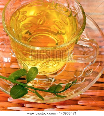 Chinese Tea Drink Indicates Refreshment Wellness And Refreshments