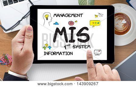 Mis  Management Information System  Data Development Information And Mis