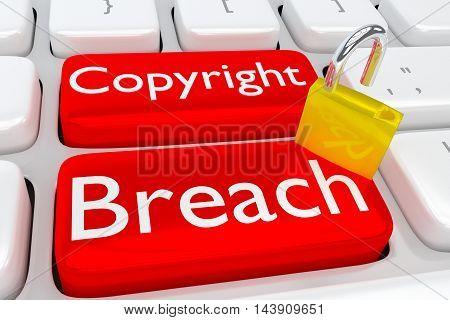 Copyright Breach Concept
