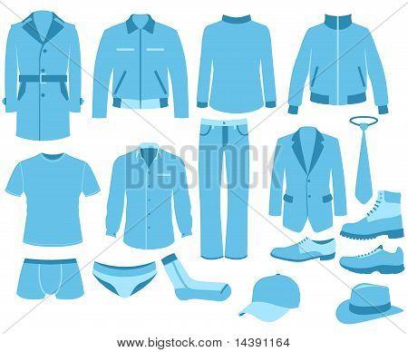 Conjunto de ropa de hombre