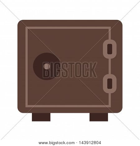 Vault, safe, locker icon vector image.Can also be used for shopping. Suitable for web apps, mobile apps and print media.