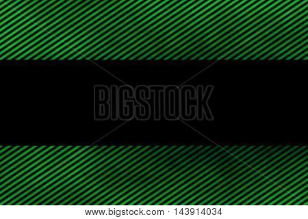 Illustration of a green smoky frame with diagonal stripes