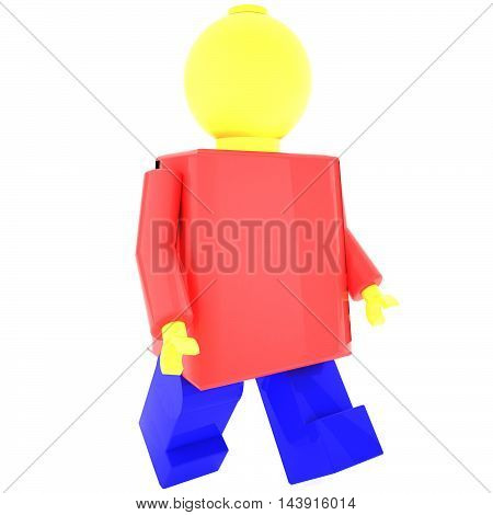 Plastic Puppet With Red Shirt