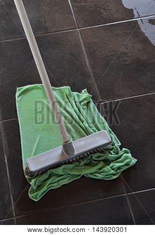 Regular cleaning floor mop.