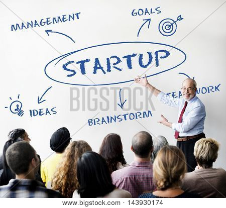 Startup Business Teamwork Company Concept