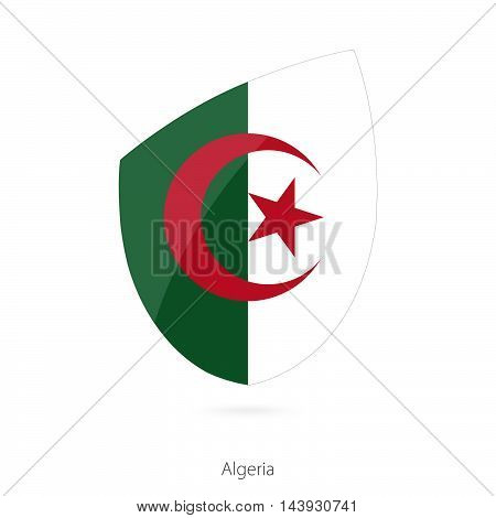 Flag Of Algeria. Algerian Rugby Flag.