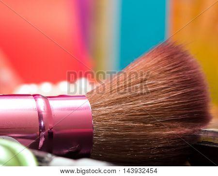 Foundation Makeup Brush Means Make-ups Applicator And Makeups