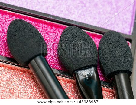 Eye Shadow Represents Beauty Product And Cosmetology