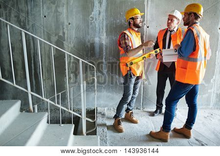 Inspectors of new building