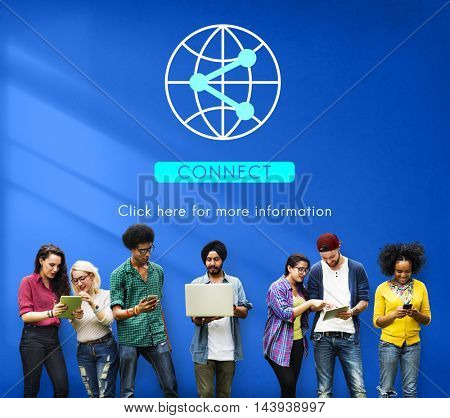 Globalization Technology Internet Connect Concept
