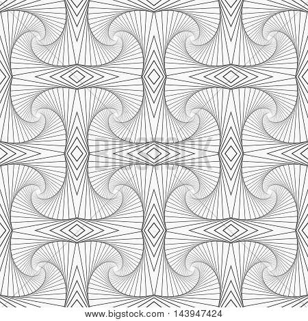 Slim Gray Striped Building Shapes