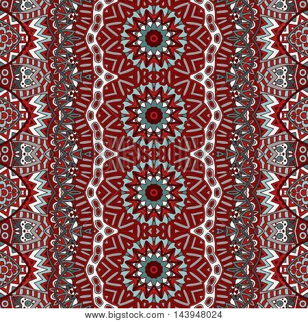 Vector Abstract Seamless  pattern background ornamental motif