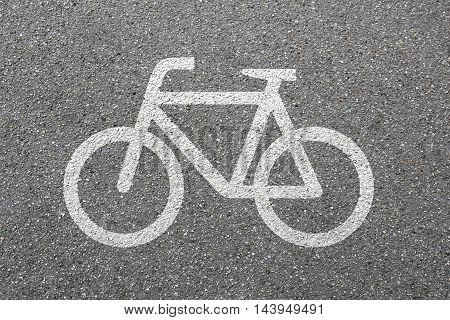 Bike Lane Path Way Cycle Bicycle Road Traffic