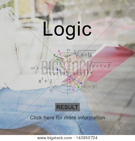 Logic Study Journalism Concept