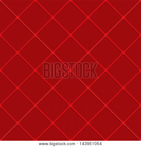 Red Grid With Nods