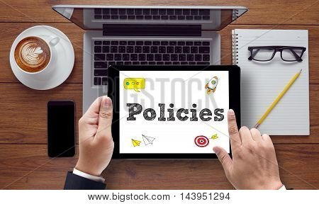 Policies Concept