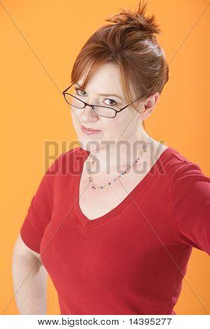 Suspicious Woman
