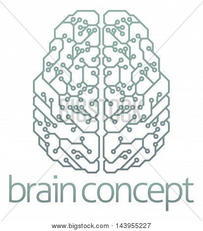 Brain Computer Circuit Design