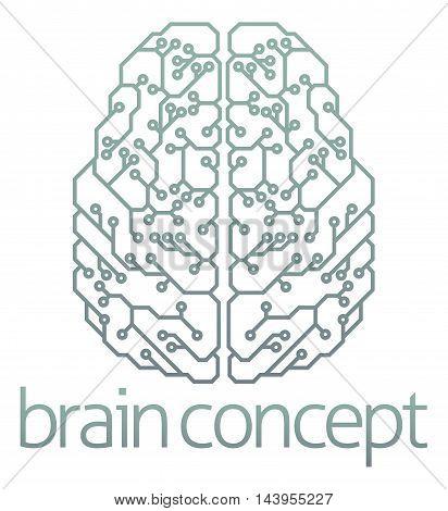 Brain Computer Circuit Design