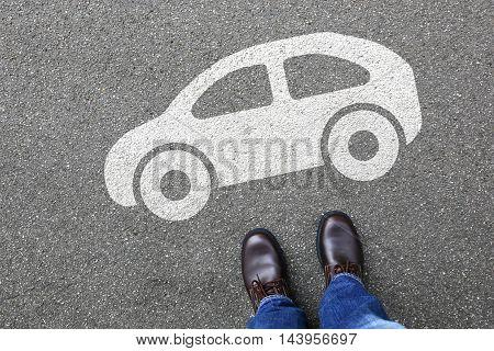 Man People Car Vehicle Street Traffic City Mobility