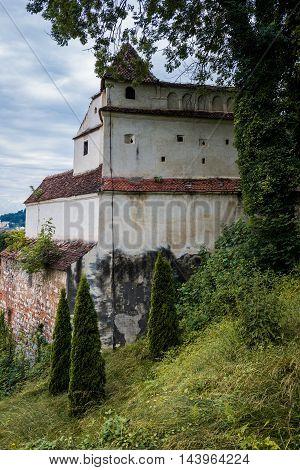 Weaver's Bastion in Brasov city in Romania
