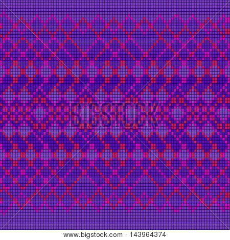 Ornamental seamless pattern. Ethnic ornament. Fabric pattern with a violet shade.
